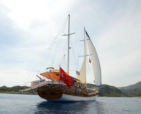 Sailing,Gulet Cheers
