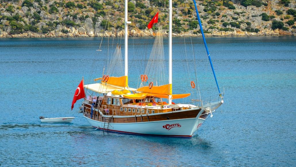 Sail,Cheers Gulet