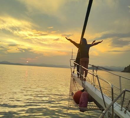 Sunset,Sail