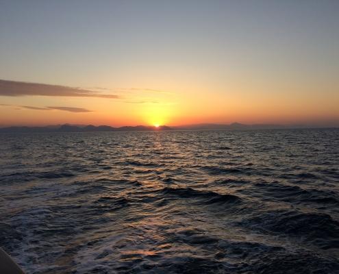 Bluecruise,Sunset