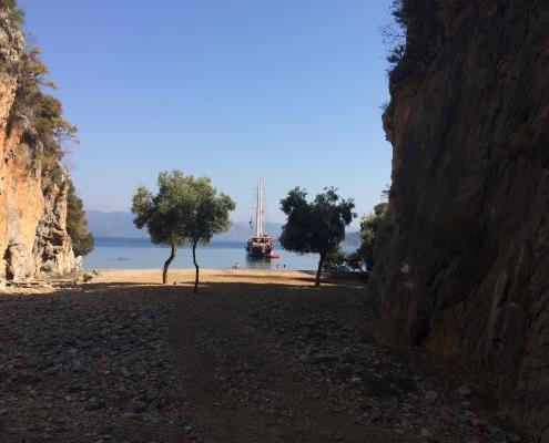 Bluecruise,Göcek,Merdivenli Bay