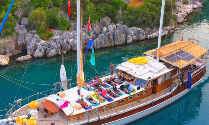 Yoga Sailturkey,Cheers Gulet