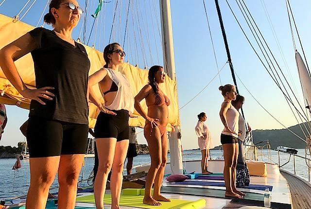 Yoga Sail Turkey