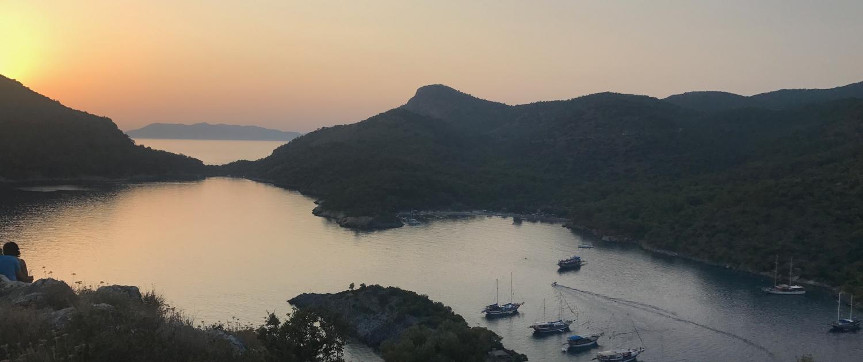 Fethiye,Bluecruise,Sunset
