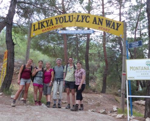 Fethiye,Lycian way