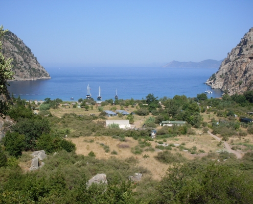 Fethiye,Butterfly Valley